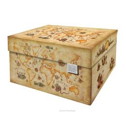 Opberg box Oude wereldkaart van Dutch Design brand bij shop.holland.com