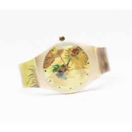 Dameshorloge Van Gogh zonnebloemen bestel je bij Holland Design & Gifts