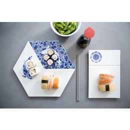 Royla Delft Blue D1653 Versatile Serve en Dip van Delfts Blauw porselein