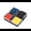 Cadeautip: fotolijstje en kaartenstandaard Basic Mondriaan met magneten. Leuk voor opa, oma, mama of papa