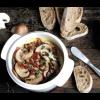 Kaas met champignons uit de Boska Cheese baker