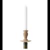 Frederik Roijé Bottle Light kandelaar in donkerbruin, sfeervolle kandelaar en origineel cadeau