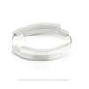 Clic A32 Armband van Clic by Suzanne met magneetsluting in mat en glanzend zilver vind je bij shop.holland.com
