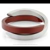 Clic by Suzanne armband A1R in rood en zilver aluminium bij shop.holland.com