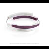 Clic A32P Armband zilver met paars van Clic by Suzanne met magneetsluting