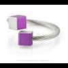 CLIC ring R4P paars en zilver aluminium bij shop.holland.com