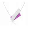 De Clic C183 roze design ketting, een fraai en elegant cadeau. Verwen jezelf of een ander!