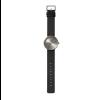 Cadeautip; Tube D38 horloge zwart staal met zwart leren band