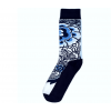 Delfts blauw sok patroon 4