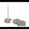 Set van 3 kaarsen standaards Hap - leuk cadeau voor moederdag of vaderdag