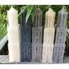 Kaars Domtoren Utrecht - 22 of 33 cm in 3 kleuren koop je natuurlijk bij Holland Design & Gifts