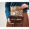 Keecie Lunch Break schoudertas donkerbruin koop je bij shop.holland.com