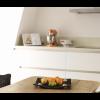 Fruitschaal Flap van DuoDesign staat prachtig in de keuken of op het dressoir