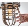 Opening van No. 20 Industriële Hanglamp MDF van Olaf Weller bij shop.holland.com