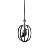 Happy Bird ketting in elegant Zwart