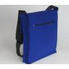 LH58 A4 vilten schoudertas in de kleur kobalt blauw in Mondriaan stijl