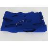 Vilten sjaal of stola in kobalt blauw: mooi design cadeau