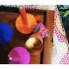 Lunedot Candle Tube Oranje voor de kaars die niet kleiner wordt koop je bij shop.holland.com