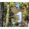 Merel een metalen vogel van Metalbird als tuindecoratie
