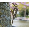 Metalen vogel Specht van Metalbird een leuk cadeau voor vogelliefhebbers