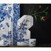 Delfts blauwe papieren vouwvaas koop je bij shop.holland.com
