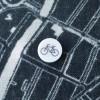Pin fiets om de sjaal vast te zetten of een plaats op de kaart aan te duiden