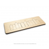 Amsterdam grachtenpandjes puzzel van hout - duurzaam en educatief cadeau