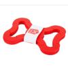 Met 10 rode stukjes maak je zelf een Foooty voetbal