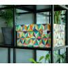 De Dutch Design Opbergbox inBack to the 60's uitvoering zet je expres in het zicht.