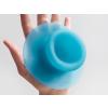 Droog design zuignap haken Sucker in de kleur blauw
