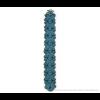 The Slim armband van Iris Nijenhuis in aqua blauw scuba suéde bij shop.holland.com