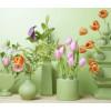 Allerlei groene kleine vazen bij shop.holland.com
