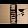De tuinvogel Metalbird Roodborstje wordt verpakt in een milieu vriendelijke cadeauverpakking