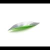 Muurstickers leaves groen - blaadjes met een groene achterkant