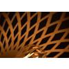 Wicker hanglamp, ontwerp van Julius Blaauw