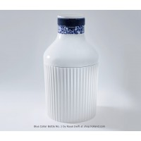 Delfts Blauw Blue Collar Bottle fles No.1 van Royal Delft