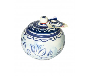 Sugar pot Delft Blond by Blond Amsterdam for a beautifully laid table or as a gift