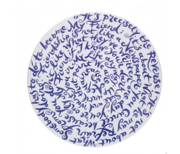 Dutch Designer Diskus plate friendship by Nicole van Schouwenburg