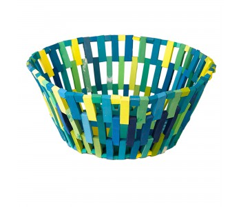 Pols Potten basket green, recycled material, flip-flops