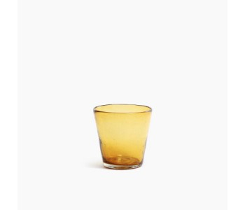 Cantel Drinking Glass Amber