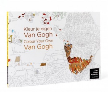 Coloring book from above the Netherlands the coloring sheets by Karel Tomeï