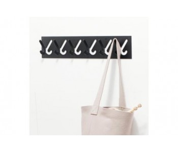 Gispen 1x6 hat rack with 6 hooks