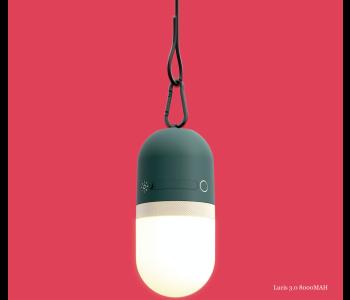 Dutch design Lucis 3.0 full colour twist LED lamp en power bank 8000MAH
