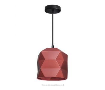 Trigami Hanglamp Wijnrood van Sabine van der Ham