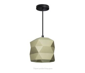 Trigami Hanglamp Groen van Sabine van der Ham