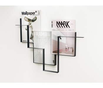 Magazine rack metal Guidelines Studio Frederik Roijé