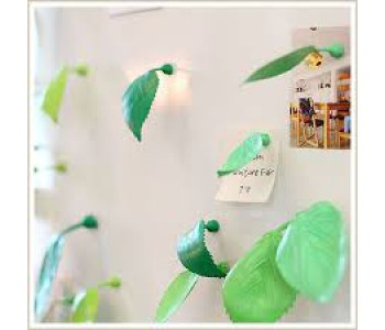 Gispen Leaves decorative magnets