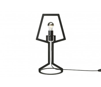 Gispen Outline table-lamp medium from black steel by Peter van de Water