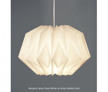 Ilyas Small Wit Hanglamp van Daniëlle Origami bestel je bij shop.holland.com