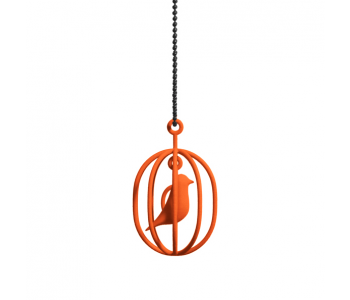 The necklace Happy Bird from Soonsalon comes in black, red, blue, white, orange and yellow